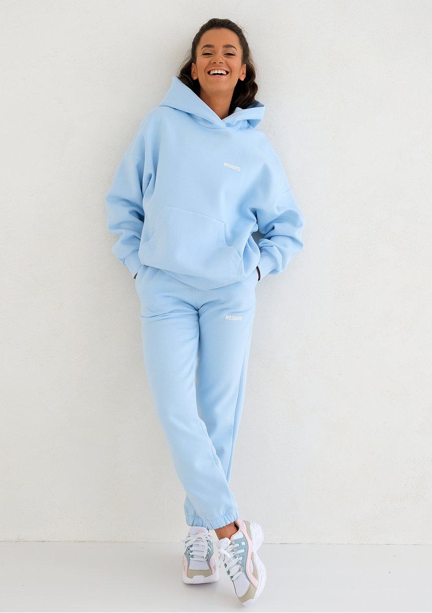 Bluza z kapturem Baby Blue ILM