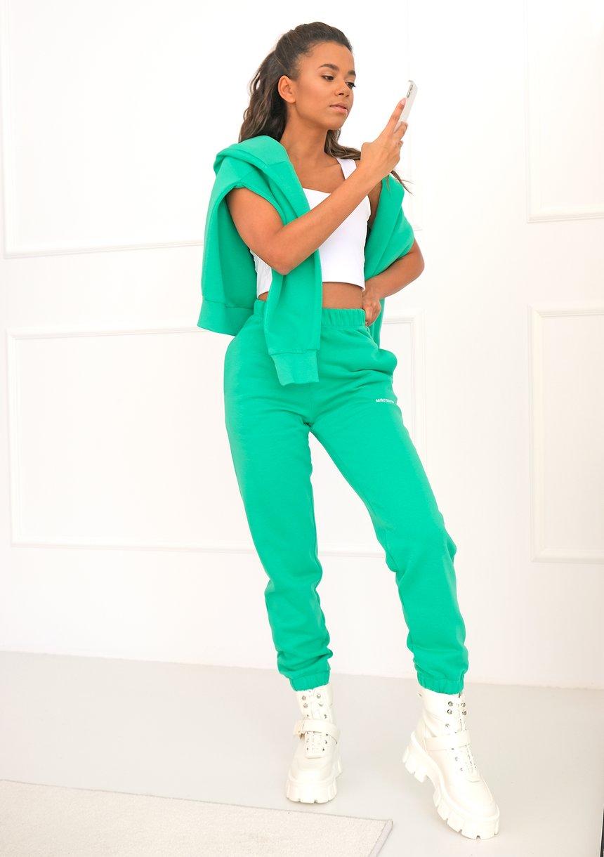 Spodnie dresowe Bush Green ILM