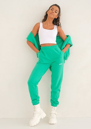 Lush Green loose fit sweatpants