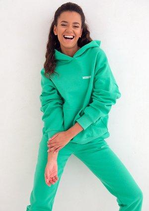 Lush Green Hoodie Sweatshirt
