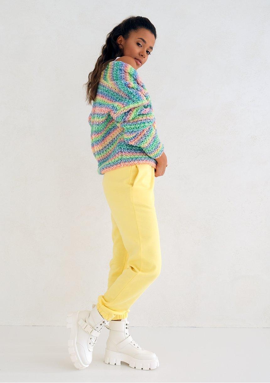 Spodnie dresowe Sour Yellow ILM