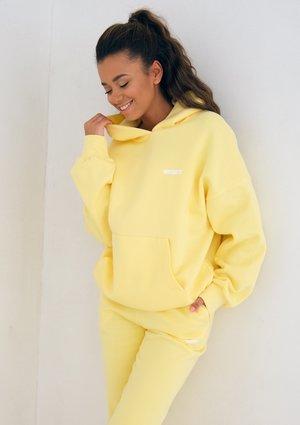 Sour Yellow Hoodie Sweatshirt