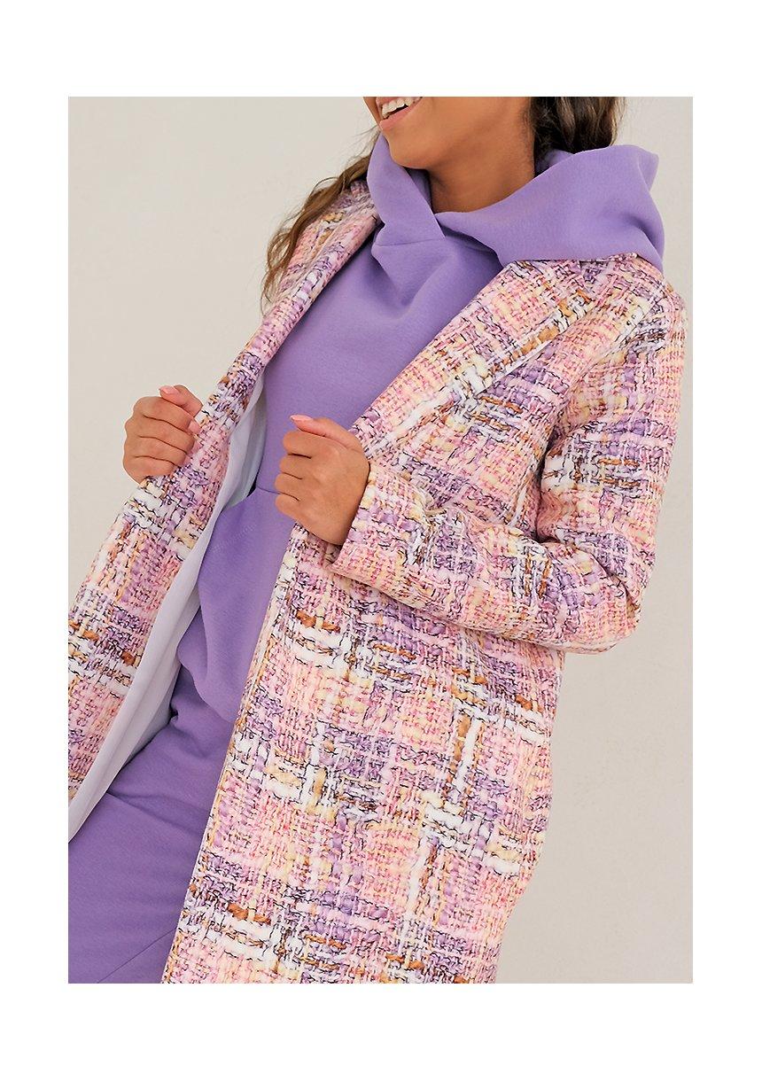 Płaszcz pastel print