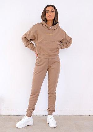 Coffee brown sweatpants ILM