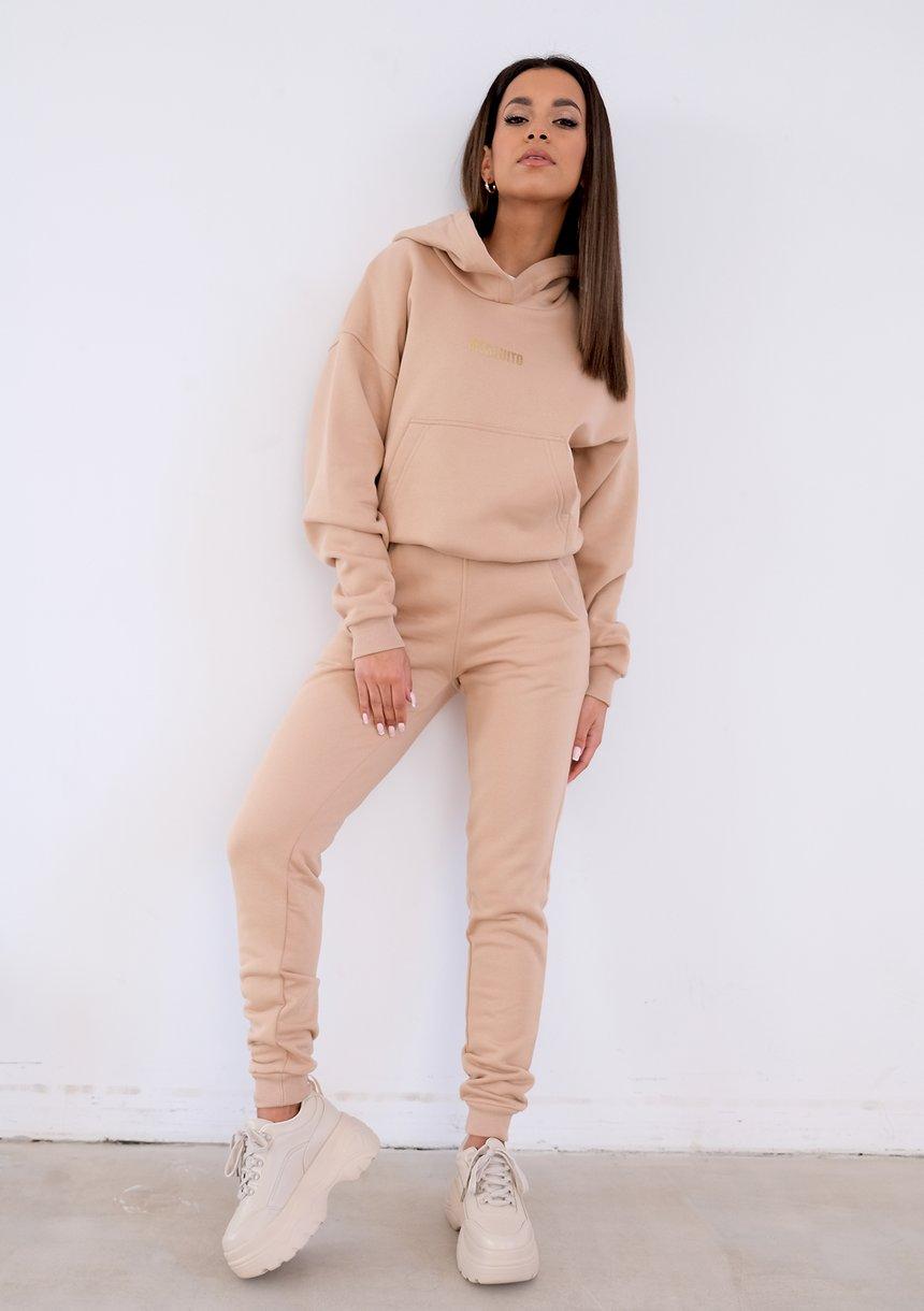 Dresowe spodnie Beżowe ILM