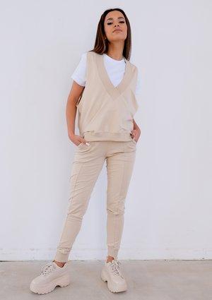 Beige cotton sweatpants ILM