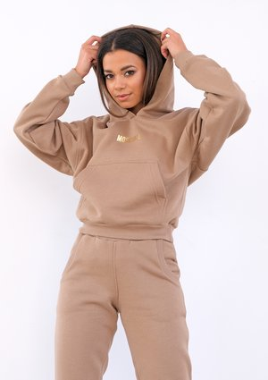 Coffee brown hoodie ILM
