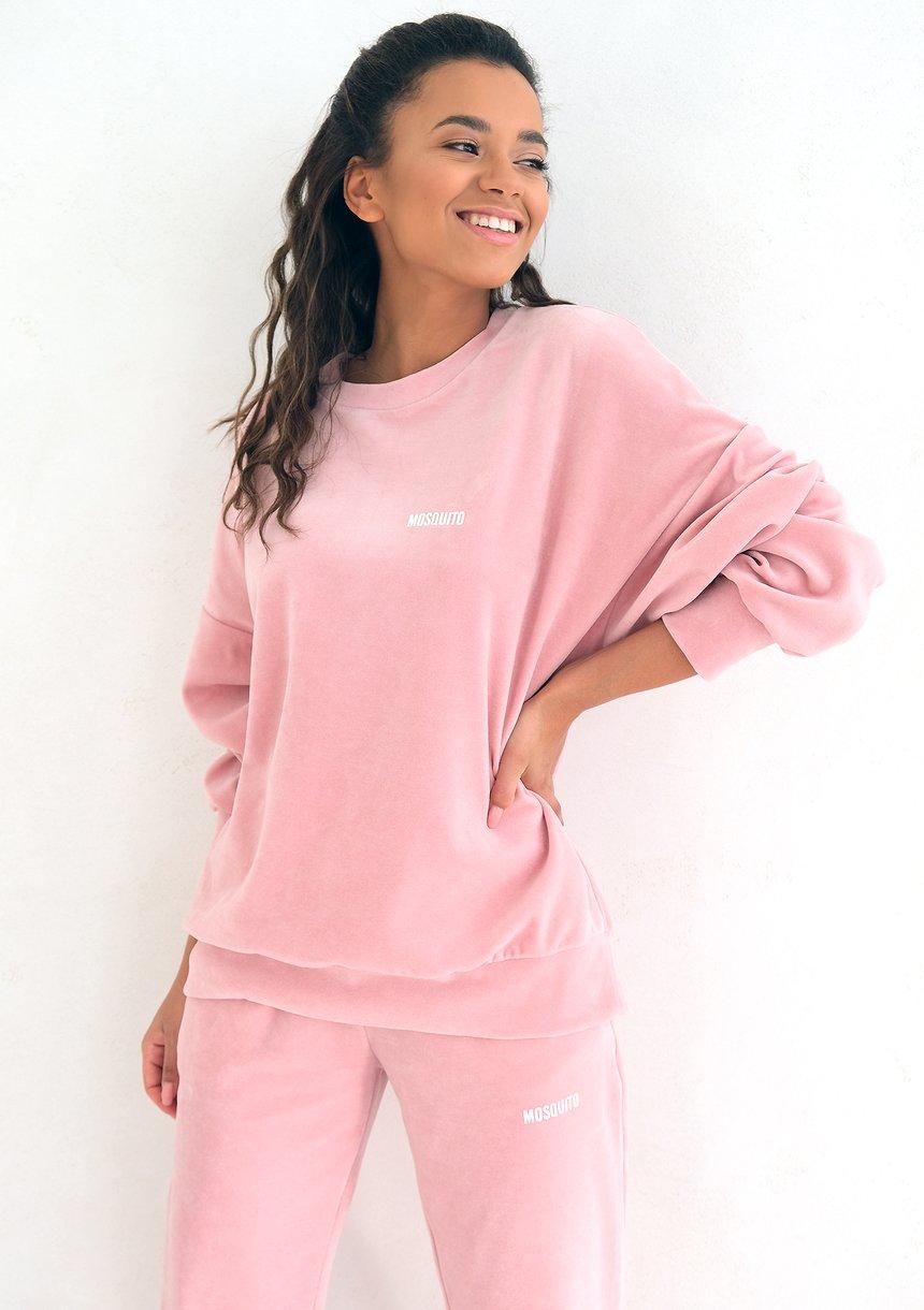 Welurowa bluza Mellow Rose ILM