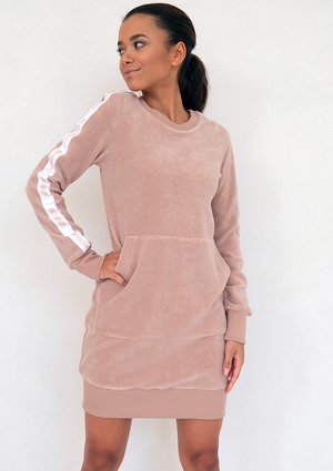 Terry cloth dress Beige