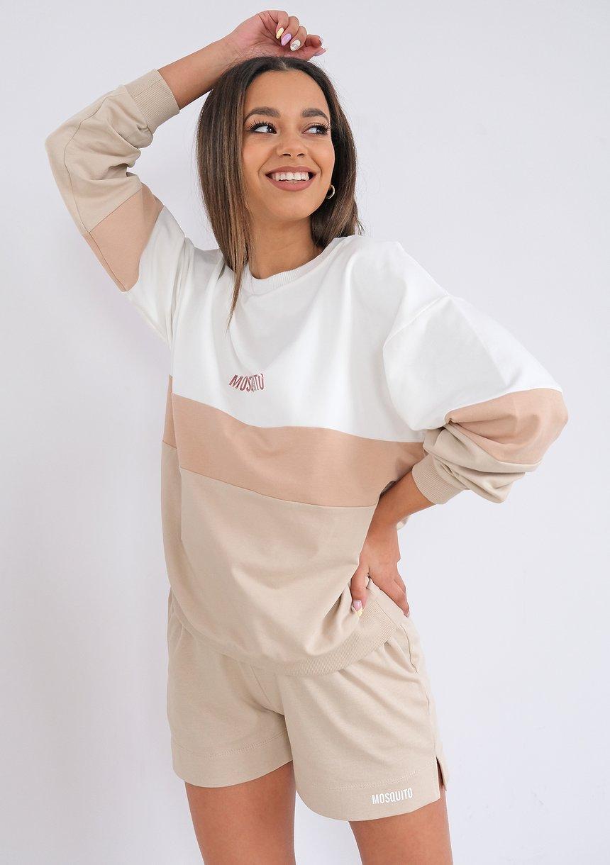 Bluza ze wstawką Nude ILM