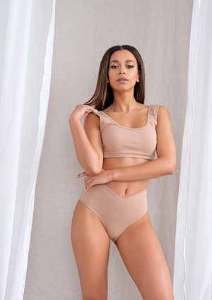Top natural fit Beige