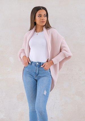 Classy cardigan OVERSIZE ILM A01 Powder Pink