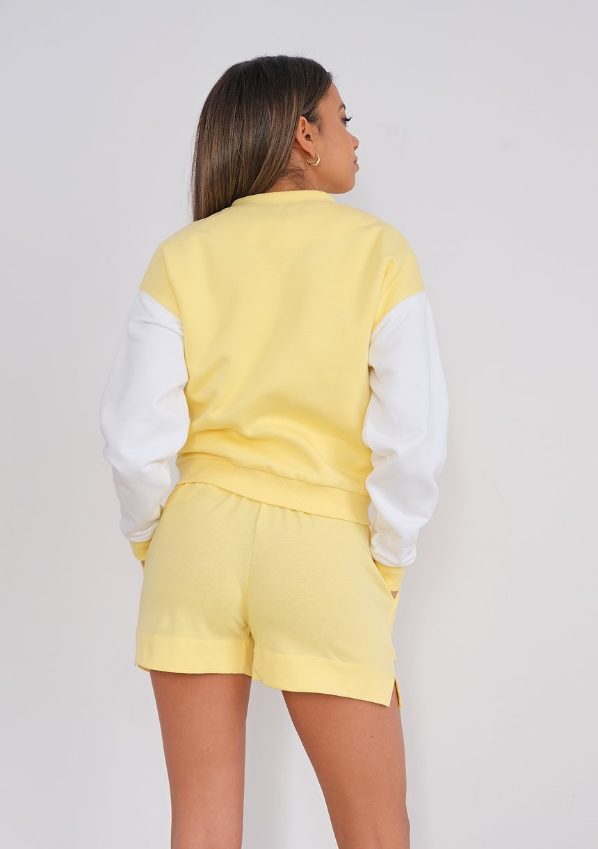 Bluza bomberka Sour Yellow