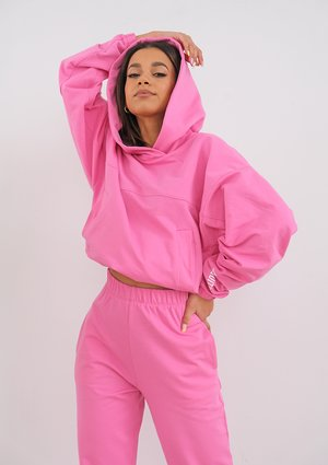 Bluza z kapturem Hot Pink