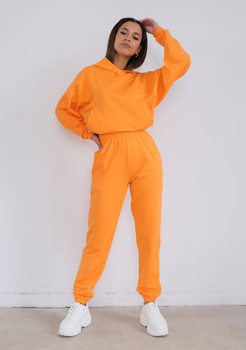 Sweatpants Orange Peel
