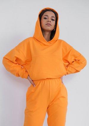 Hoodie Orange Peel