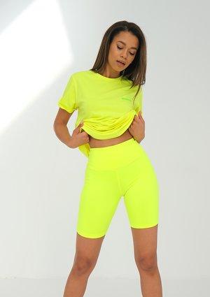 Legging Biker Neon Lime