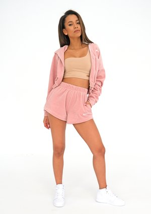 Velvet Shorts Mellow Rose