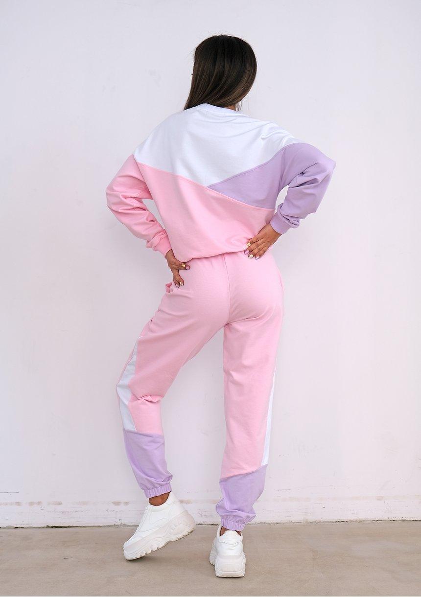 Bluza dresowa Pastel Pink ILM