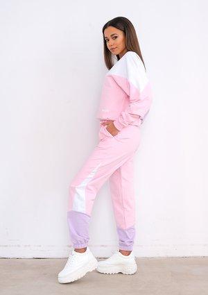 Spodnie dresowe Pastel Pink ILM