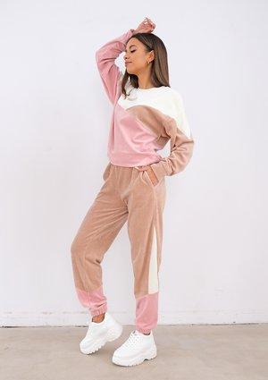 Welurowe spodnie Marshmallow ILM
