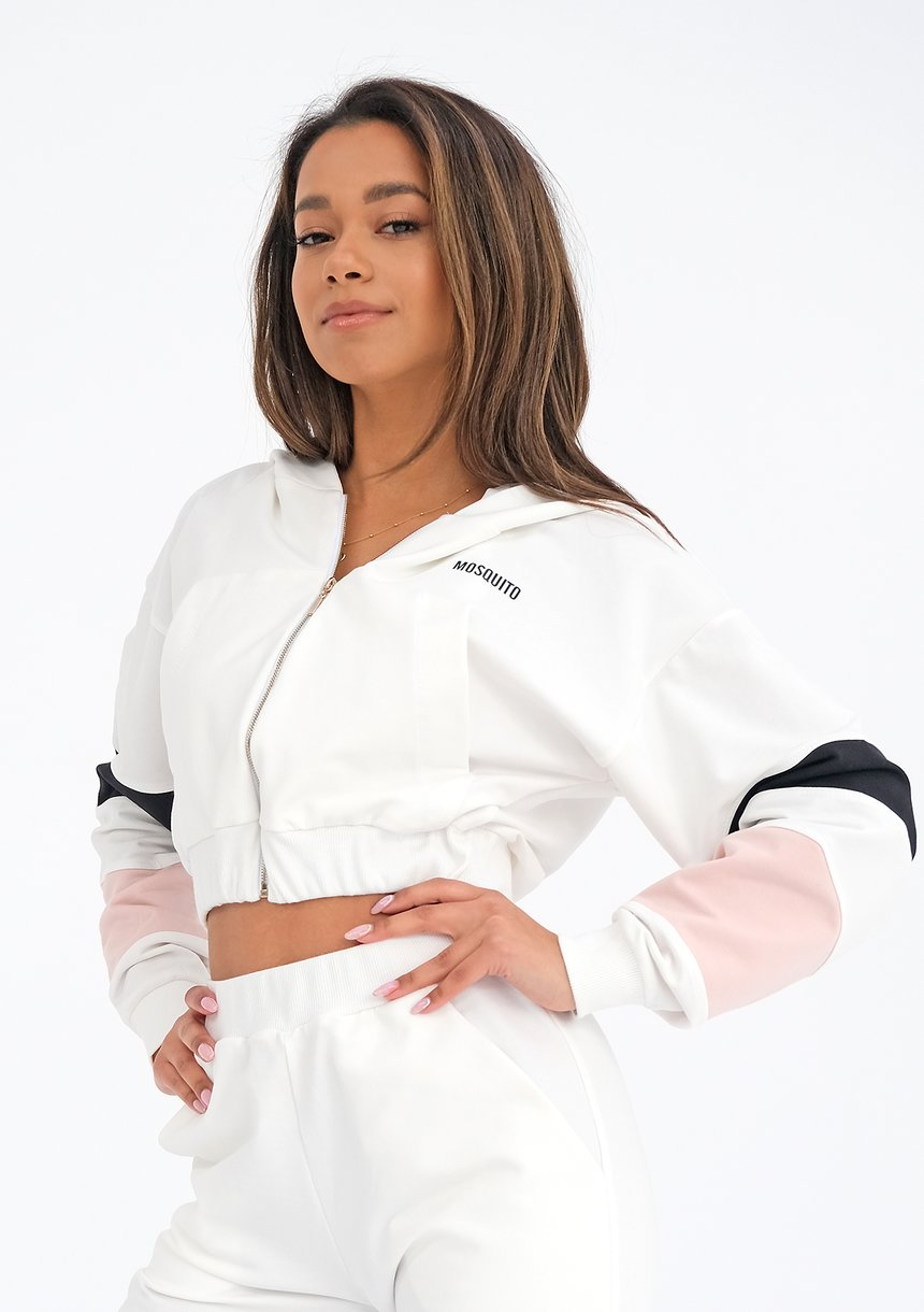 Bluza rozpinana ze wstawkami Powder ILM