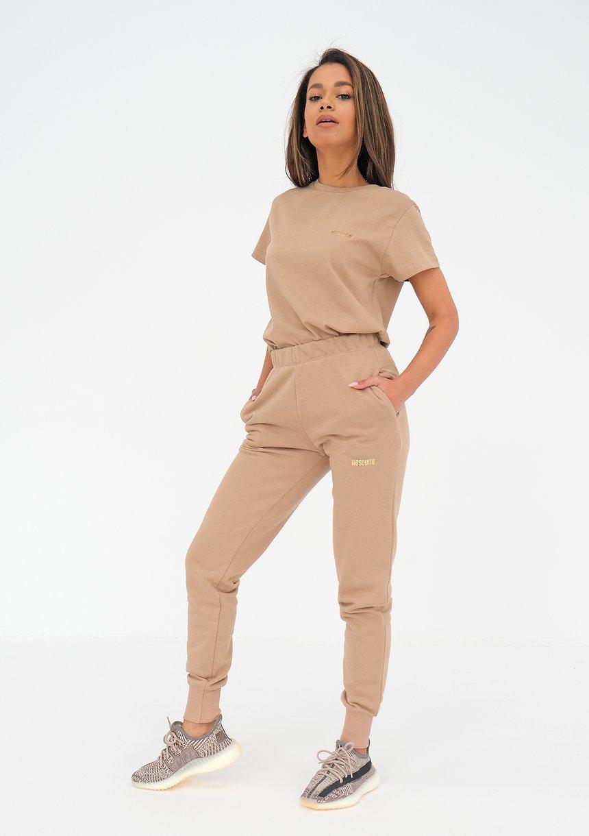 Spodnie dresowe Coffee Beige ILM