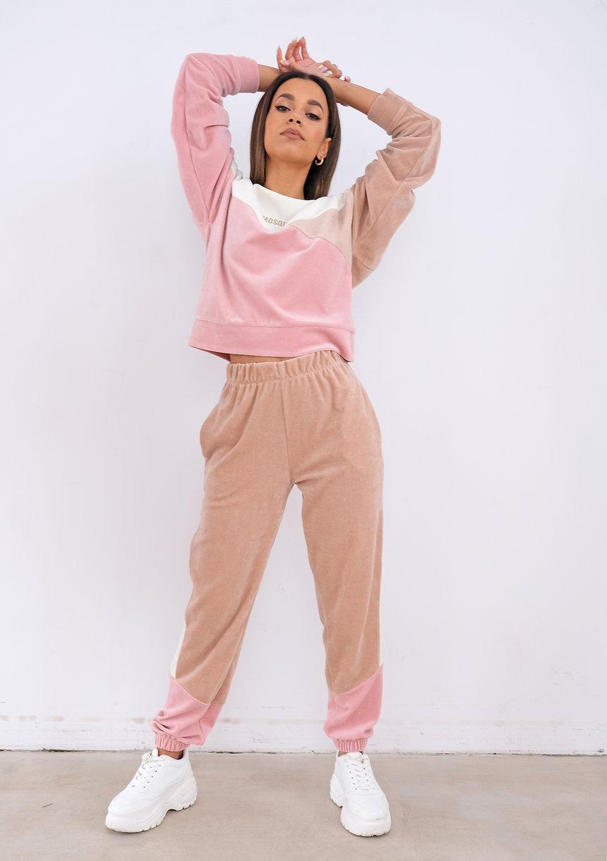 Welurowa bluza Marshmallow ILM