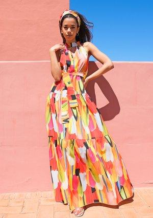 Letnia sukienka maxi Lady Bird