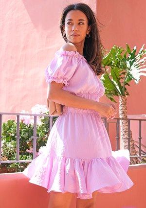 Summer lila skirt