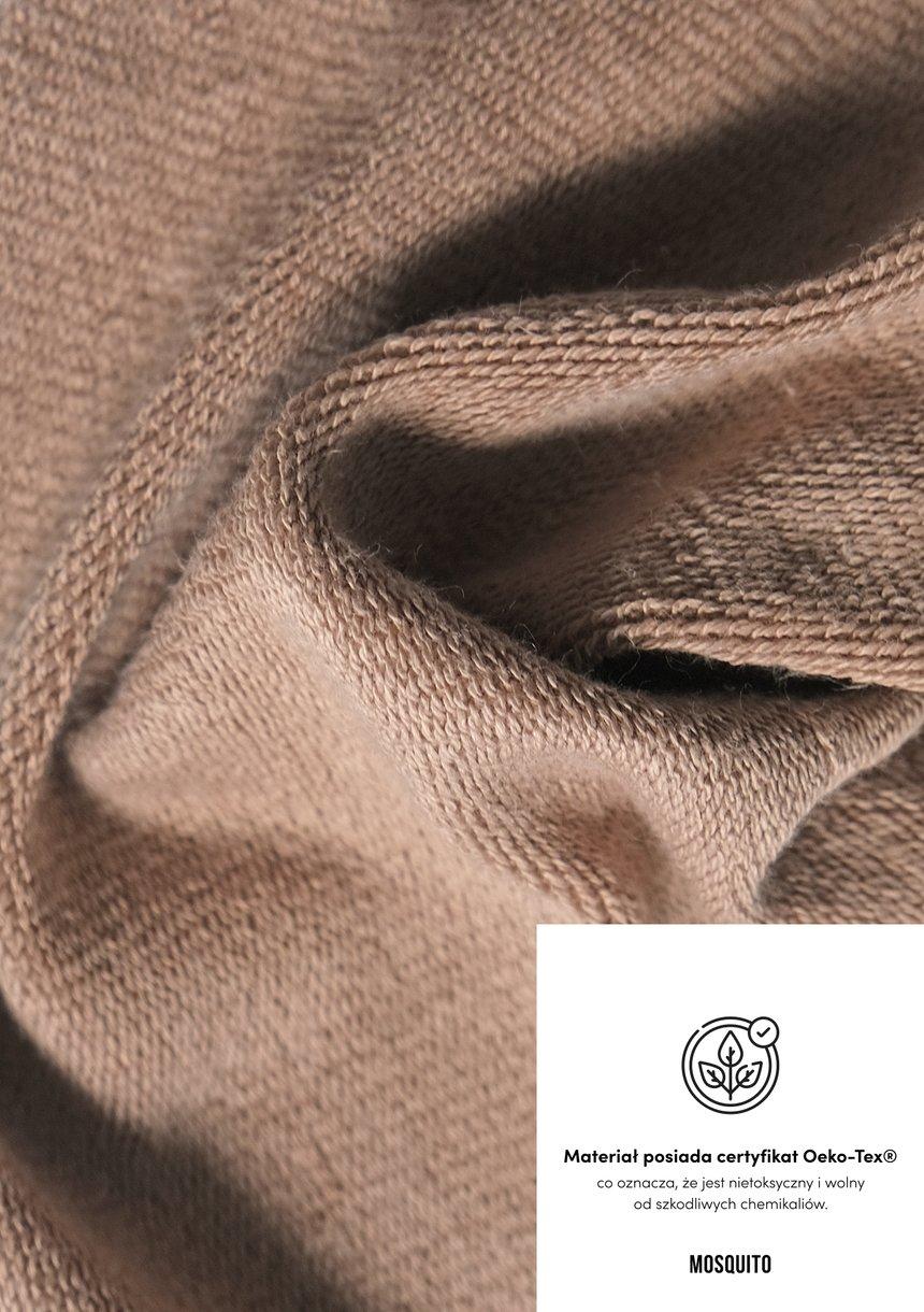Bluza z odkrytymi ramionami Coffee Beige ILM