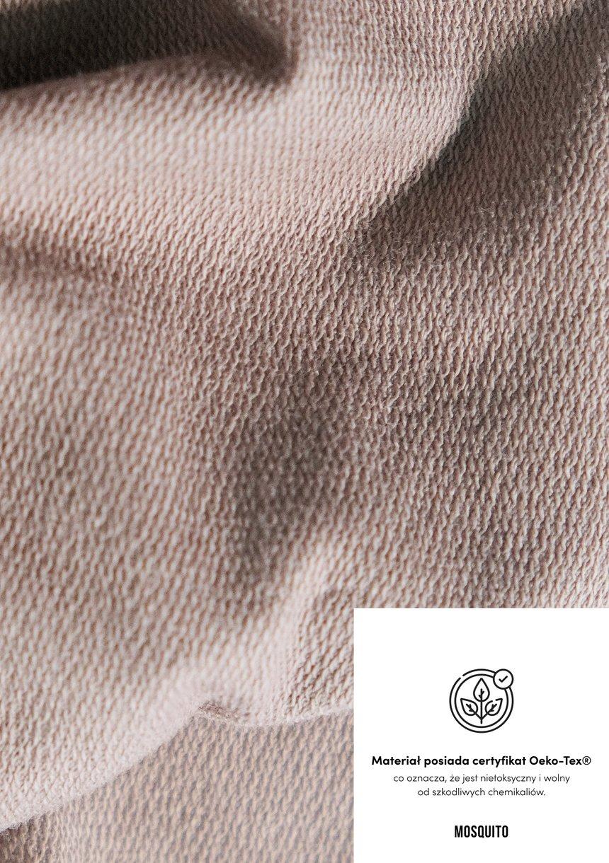 Rozpinana bluza z poduszkami Coffee ILM