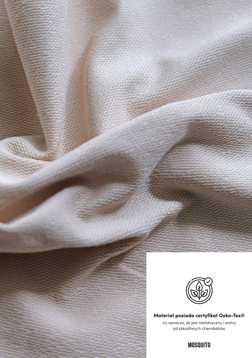 Rozpinana bluza z poduszkami Beige ILM