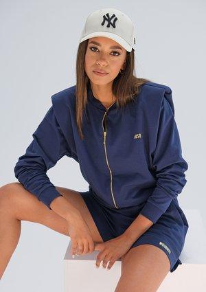 Sweatshirt with shoulder pads Navy