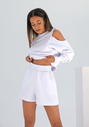 Szorty dresowe Białe ILM