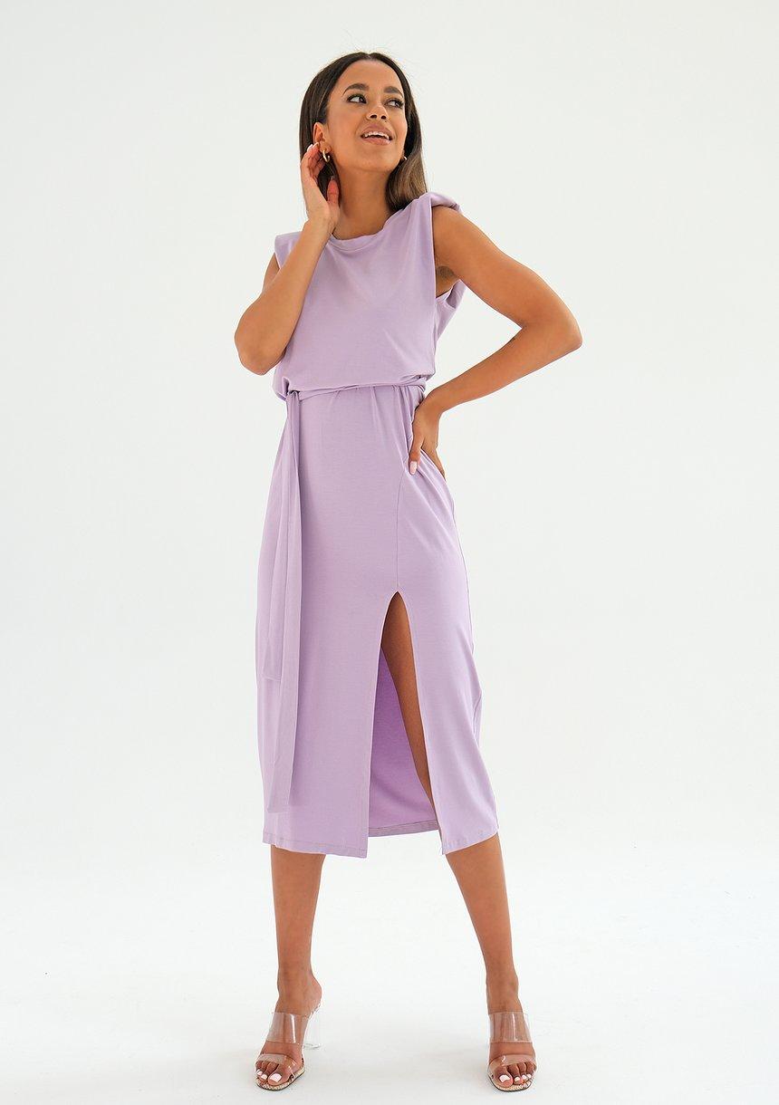 Sukienka midi z poduszkami Lila ILM