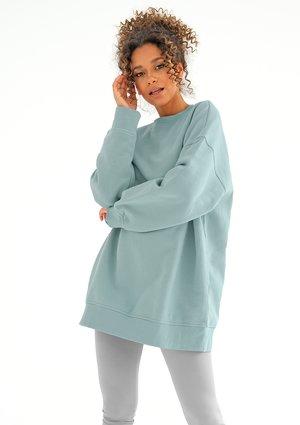 Oversize sweatshirt Blue Stone
