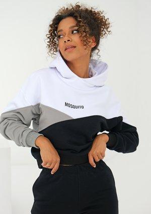 Tricolor sweatshirt Grey