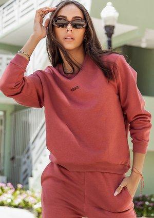 Sweatshirt Dusty Rose
