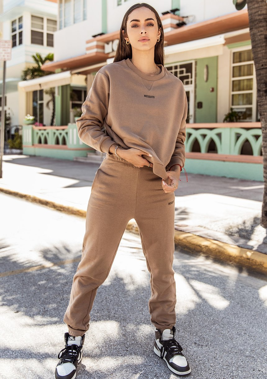 Spodnie dresowe Coffee Latte ILM