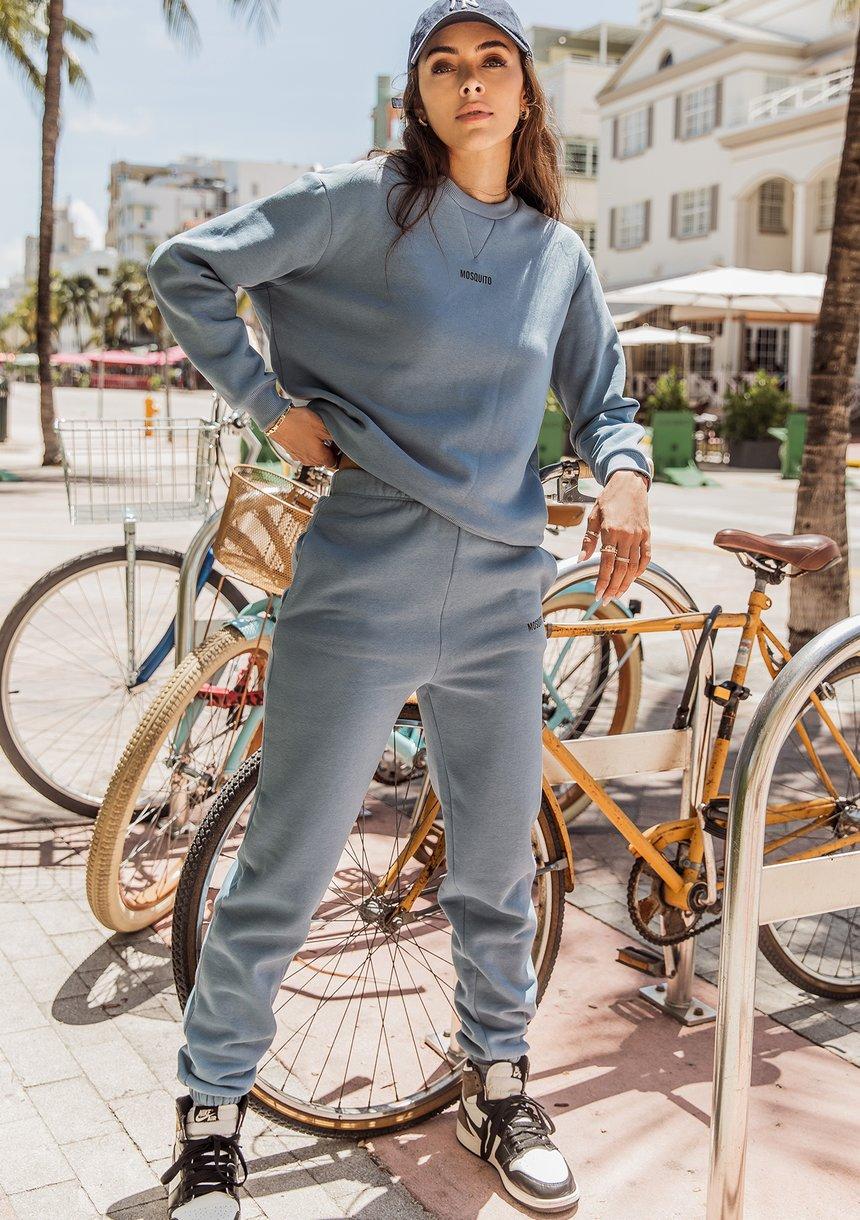 Spodnie dresowe Faded Denim ILM