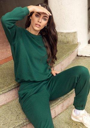 Sweatshirt Deep Green