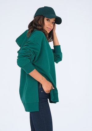 Oversize green hoodie