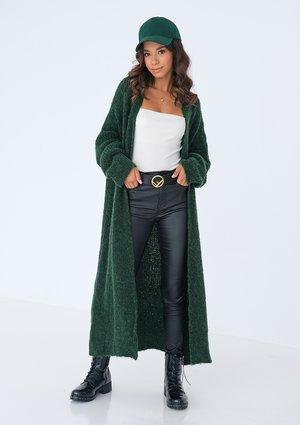 Maxi green cardigan ILM