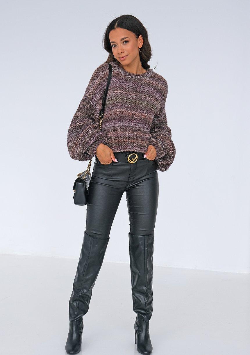 Sweter Brown Melange ILM