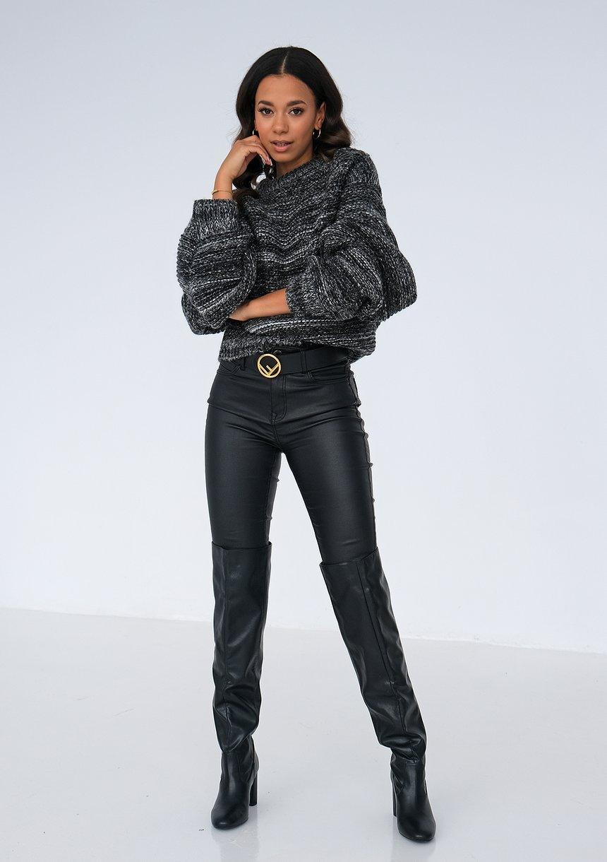 Sweter Dark Melange ILM