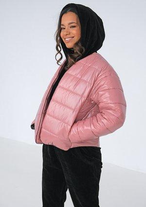 Pikowana kurtka Candy Pink ILM