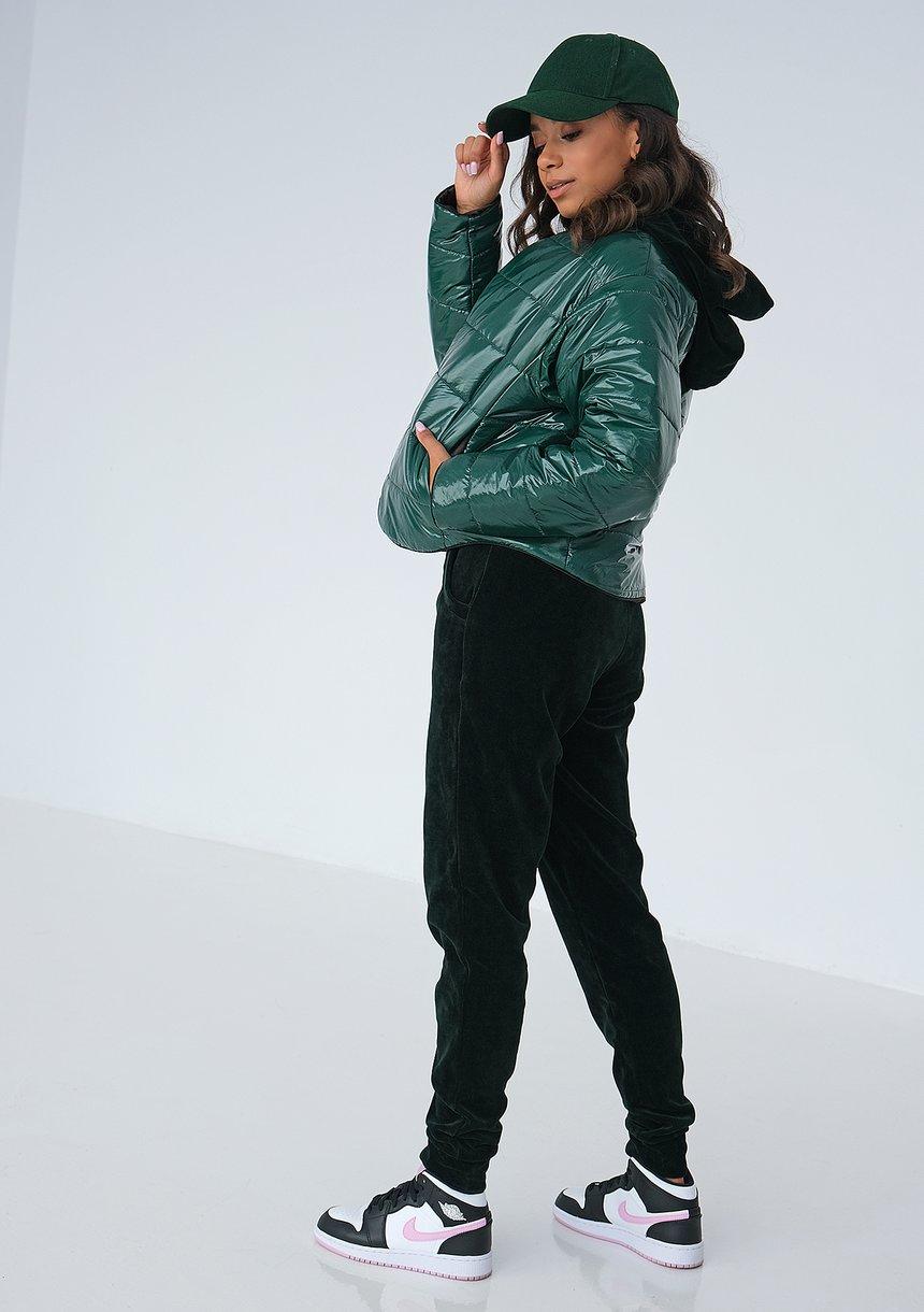 Pikowana kurtka Green ILM