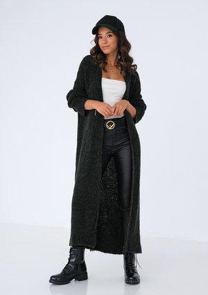 Maxi black cardigan ILM