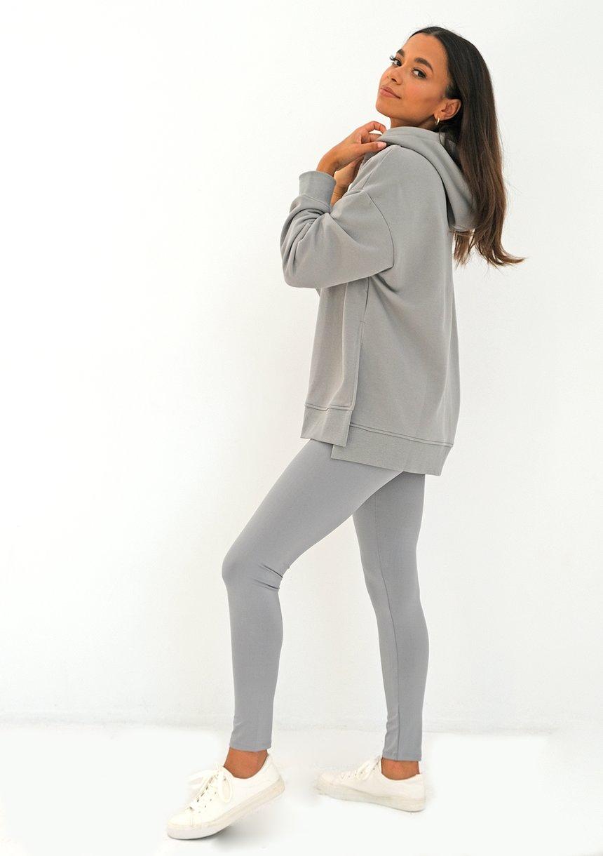 Oversize grey hoodie